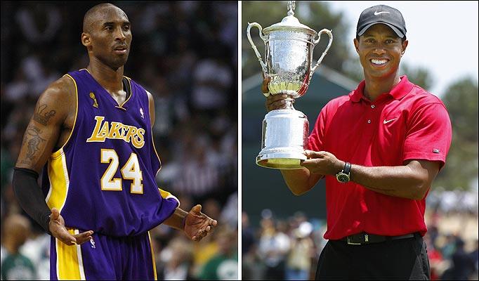 Kobe and tiger